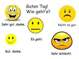Wie geht`s? / How are you? - Teleskola
